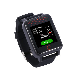 Водонепроницаемый gps-трекер, сенсорный экран 1,54 дюйма, умный мониторинг местоположения, SOSGPS часы, измерение температуры, кровяное давление ...