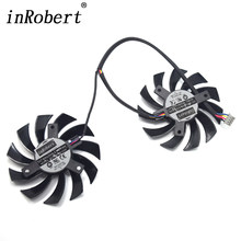 75mm PLD08010D12HH PLD08010S12HH Cooler Fan For MSI GTX 460/480/560/570/580/R5850/6790/6850/6870/6950 Twin Frozr Vision R9 270X(China)