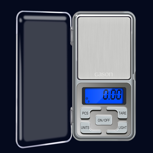 GASON Z4 Jewelry Scale For Gold Weight Hight Precision Mini Pocket Electronic Digital Balance LCD Display Grams (100g/0.01g) 1