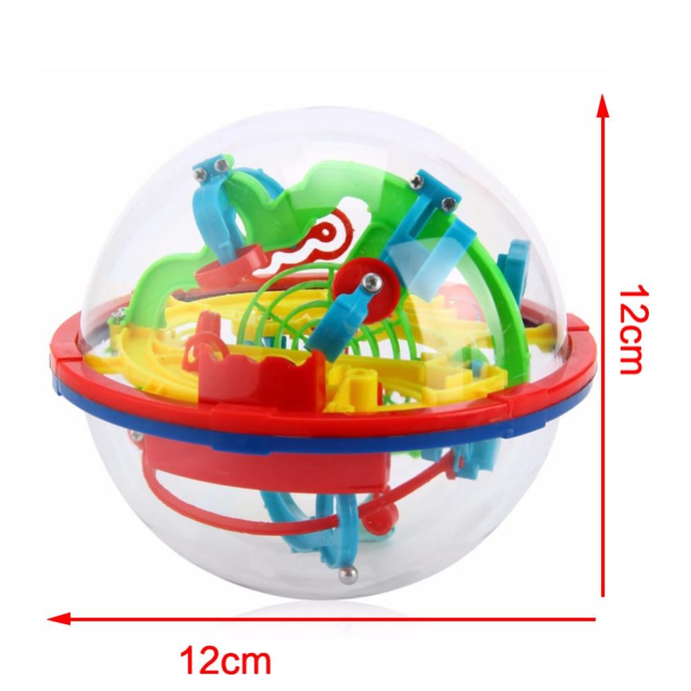 YKLWorld Najnovije Zabava 3D Maze Ball Intelekt Magic Ball Djeca Kid - Igre i zagonetke - Foto 6