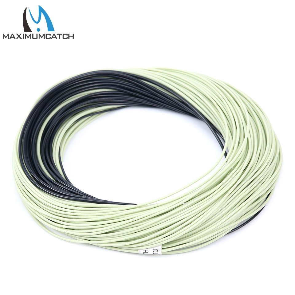 Maximumcatch 100ft 4 8wt weight forward floating fishing for Floating fishing line