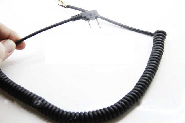popular icom wiring buy cheap icom wiring lots from icom 5pcs 2pin 5 wire speaker mic microphone cable cord for icom v8 f21 f11 v82 v85