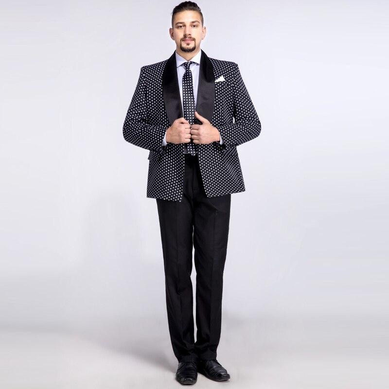 2018 Degli Nero Il Size giacca Scialle Custom La Made Sportiva Per Vestiti Giacca  Pezzi Risvolto ... c32e980a5ef