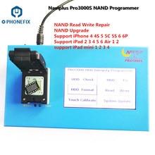 Jc pro1000s jc p7 pcie naviplus pro3000s ip caixa nand programador sn lê ferramentas de escrita para todos os iphone ipad memória atualização de atualização