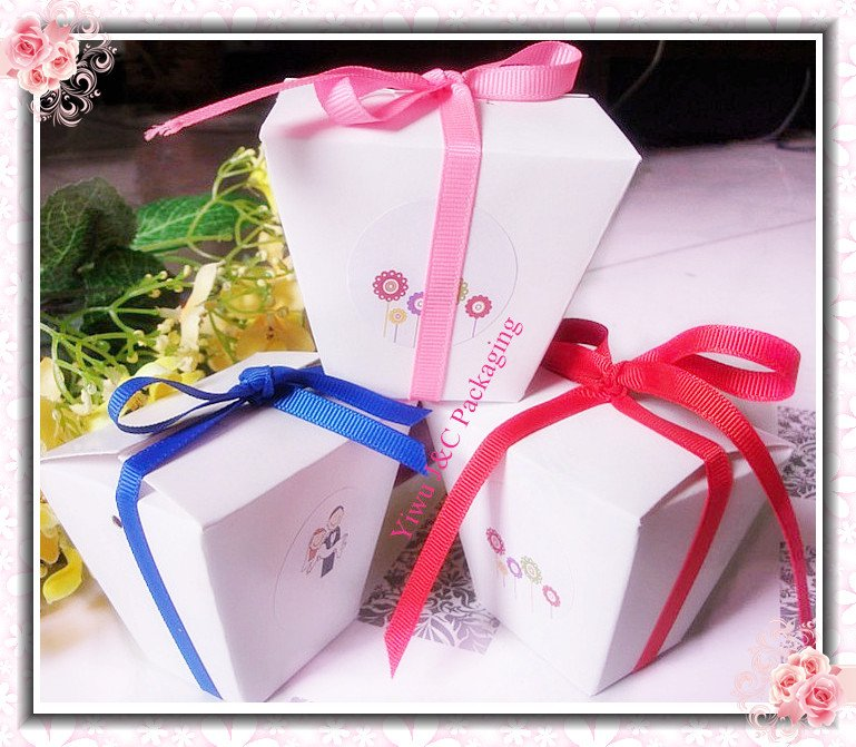 Red Chinese Take Out Favor Boxes : Free shipping pcs white chinese take out wedding favor