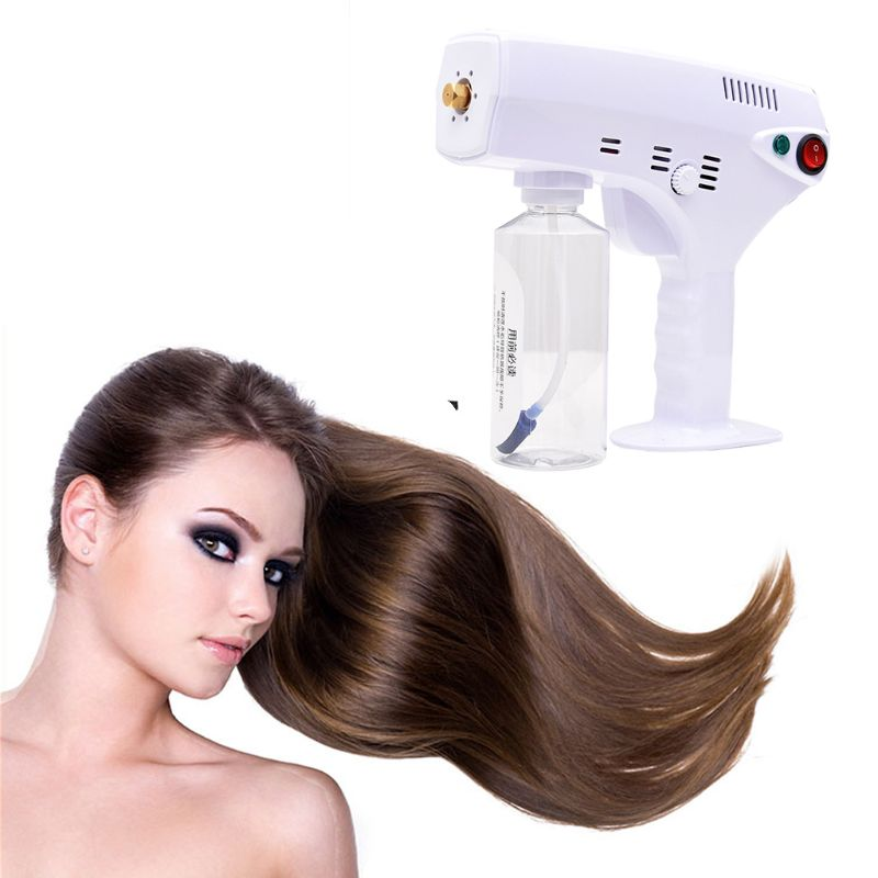 280ML Multifunction Electric Nano Hair Repair Moisturizing Sprayer Steamer Gun Humidifier Salon Barber Hairdressing Tool