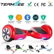 electric skateboard hover board 36v 18650 battery self balance hoverboards with bluetooth and remote balancing scooter US stock