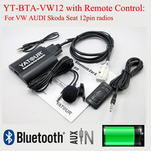Yatour Bluetooth odtwarzacz MP3 BTA z pilotem do radia vw audi skoda seat 12PIN