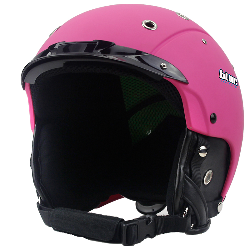все цены на BLUR Ski Helmet Child Sports Half Face Protective Head Protection Skateboarding Skiing Helmets For Kids Helmet Cover For Kids онлайн