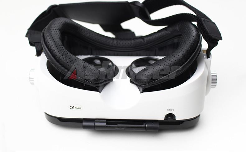 3D VR Glasses Headset    Virtual Reality Google Helmet Cardborad gafas   oculos 3d (6)