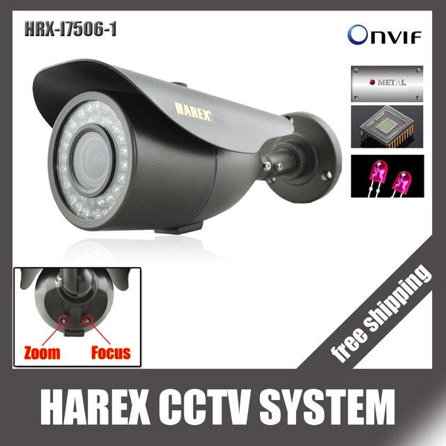 1280*720 P 1.0mp с 2mp 2.8 ~ 12 мм зум-объектив с переменным фокусным расстоянием IP Камера 42 ИК-светодиодов ONVIF водонепроницаемый ИК-plug and play, бесплатная доставка