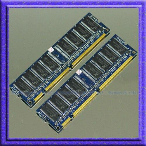 НОВЫЙ 1 ГБ 2x512 МБ PC133 133 МГц SDRAM pc133 133 мГц 168pin DIMM Памяти Для Настольных Компьютеров Не ECC Низкой Плотности RAM Бесплатная доставка