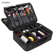 YCBXBAO Hot Beautician Bag Hand bags Compact Cosmetic Big professional Makeup Box Case Large Bags Storage Suitcases
