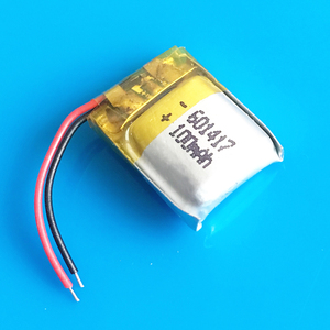 Литий-полимерная аккумуляторная батарея маленького размера 100 мАч для MP3, bluetooth, ручка для часов, средняя гарнитура, головной убор, видео ручк...