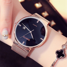 GIMTO Fashion Watch Women Luxury Brand Gold Bracelet Wristwatch Ladies Business Watches Full Steel Quartz Watch Relogio Clock gimto brand luxury crystal women watches rose gold steel clock bracelet ladies quartz watch female wristwatch relogio feminino