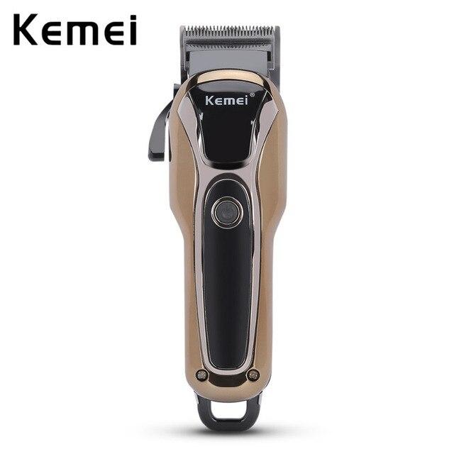 KEMEL profesional eléctrico cortapelos recargable Trimmer pelo máquina de  corte para barba Trimer impermeable barba d185363e9faa