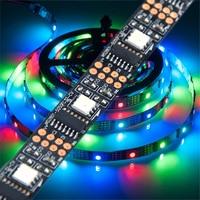 WS2801 DC5V 5m 32leds/m 2801 Chip LED 5050 RGB Strip 12mm Individually Addressable Tape Full Dream Color Light IP30 IP67