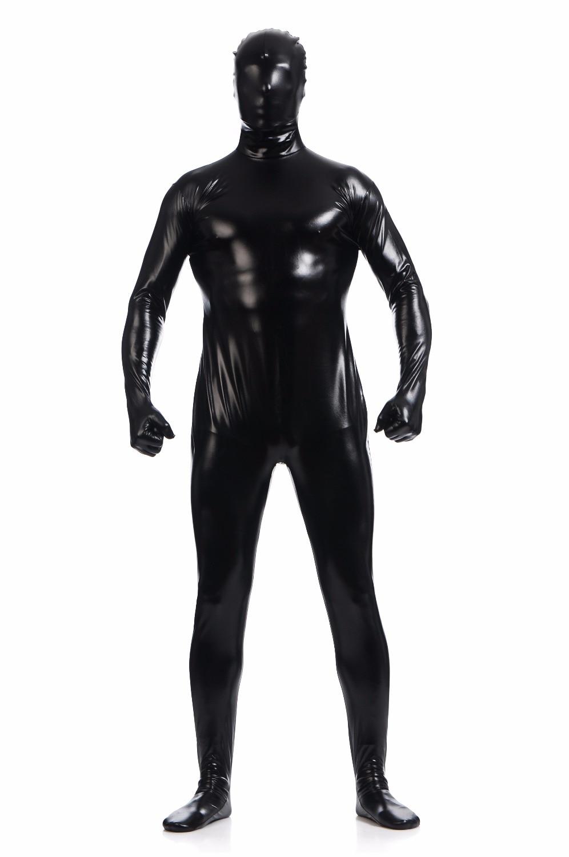 Spandex Zentai Costume Second Skin Open Eyes Halloween Party Bodysuit S-XXXL