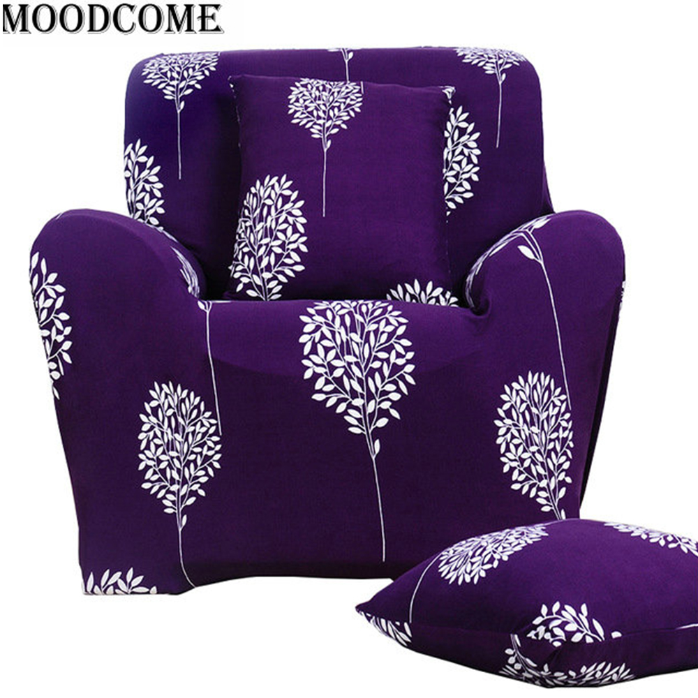 Purple sofa cover canape moderne slipcovers for couches for Canape sofa cover