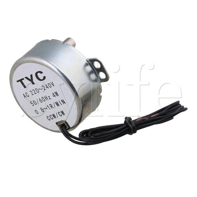 Moteurs synchrones ca 220 V 0.8-1 r/min 50/60Hz CW/CCW 4W couple de TYC-50 12KGF.CM
