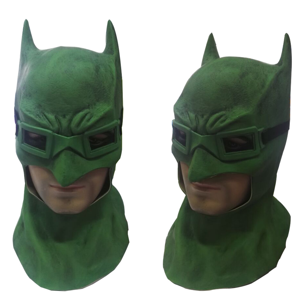 Suicide Squad Batman Masks Joker Green Mask Latex Batman Vs Superman Masks With Glasses Cosplay Batman Masks Halloween Party (6)