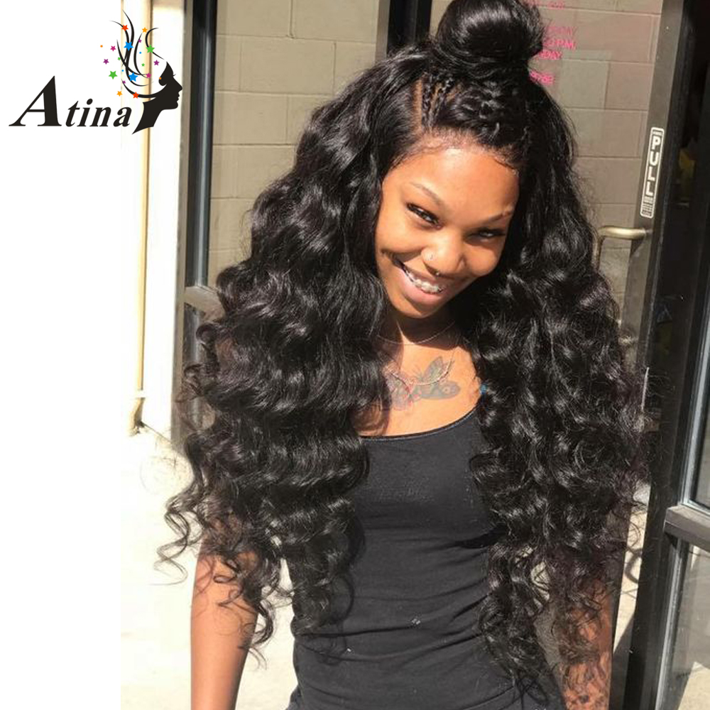Deep Curly Indian Full Lace Human Hair Wigs With Baby Hair Remy Virgin Hair Full Lace