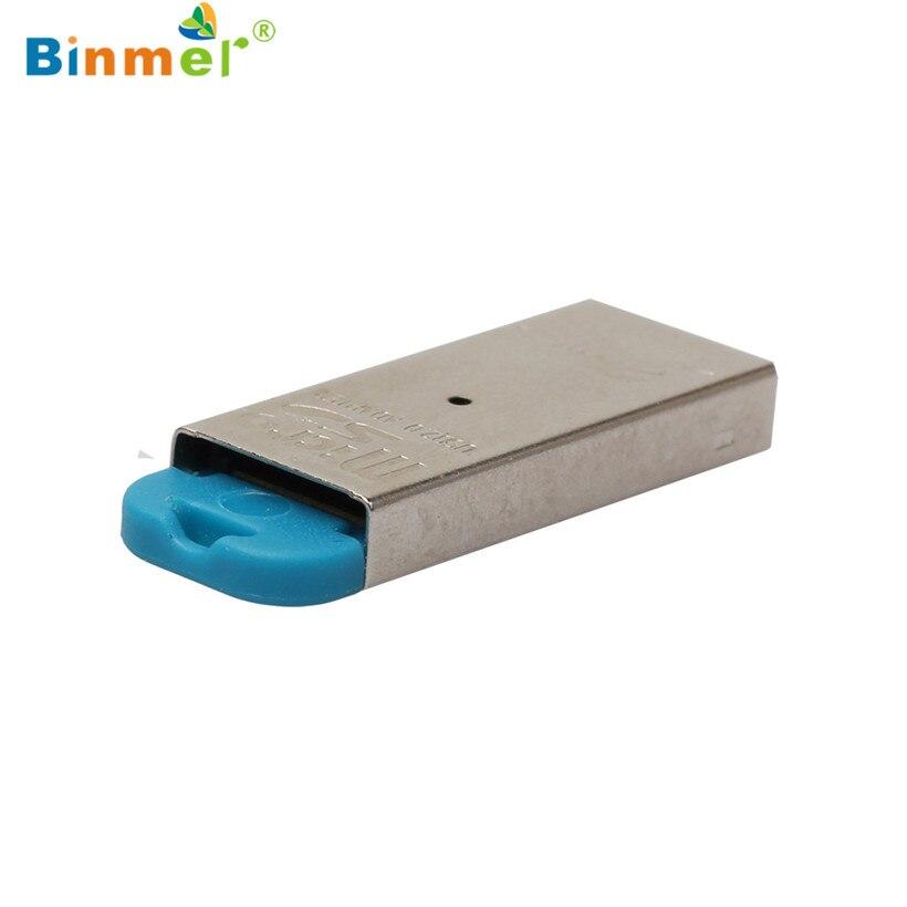 Binmer Advanced 2018 MINI Card Reader Adapter High Speed Mini USB 2.0 Micro SD TF T-Flash Memory 1PC ecosin2 card reader high speed mini usb 2 0 micro sd tf t flash memory card reader adapter april11