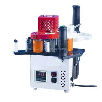 Wersja sterownika małe pojedyncze-ręcznie uszczelniania maszyn KM08 piosenki prosto krawędzi uszczelniania maszyn 110 V/220 V 1 pc