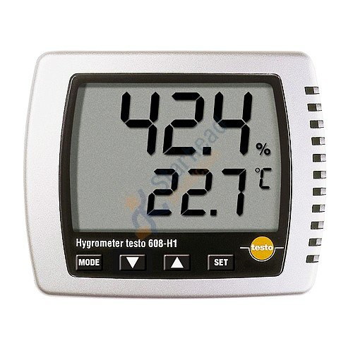 Testo 608 H1 large display digital thermohygrometer humidity/dewpoint/temperature,0560 6081-in Temperature Instruments from Tools    1