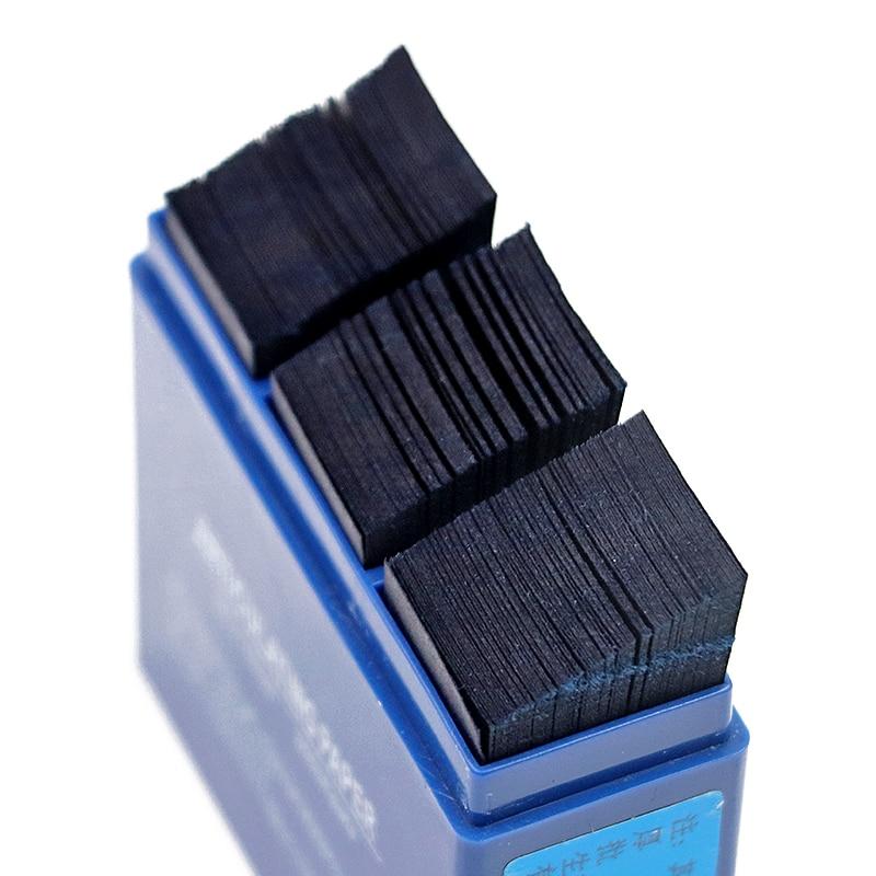 600 листа/уп наклейки для ногтей с контейнер под элемент питания 2 Коробки Стоматологическая артикуляционная Бумага полоски и 1 шт. Артикуляционная Бумага Пинцет синий/красный стоматологических инструментов