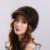 Moda Engrossar Chapéu de Inverno Estilo Animais de Tricô de Pele De Vison Natural Com Bonito Pompom Cap Cor Patchwork Mulher Legal Boné de pala