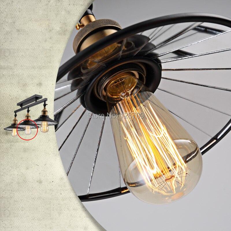Loft Antique Plafond Vintage Pendentif Lumières Industrielle ...