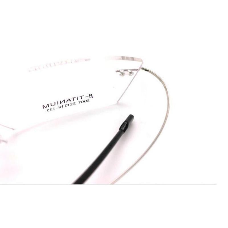 Clever Reinem Titan Brillen Frauen Top Qualität Optische Gläser Rahmen Rezept Kleine Brille Lesen Computer Marke Designer Neue Bekleidung Zubehör Brillenrahmen