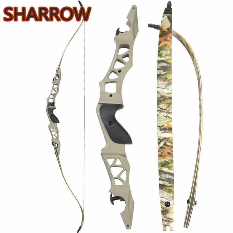 60lb Archery Takedown Recurve Bow Set Arrows Broadheads Right Hand Adult Outdoor