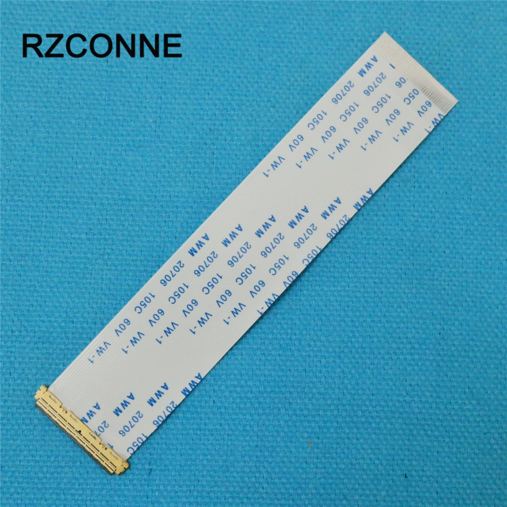 2pcs I-PEX 20453-040 FFC FPC Flexible Flat Ribbon Cable 40 Pin 0.5mm Pitch For 9.7'' 15.6'' 17.3'' EDP Panel Reverse Direction