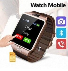 Image 3 - Bluetooth Smart Uhr Smartwatch DZ09 Android Anruf Relogio 2G GSM SIM TF Karte Kamera für iPhone Samsung Android PK GT08 A1