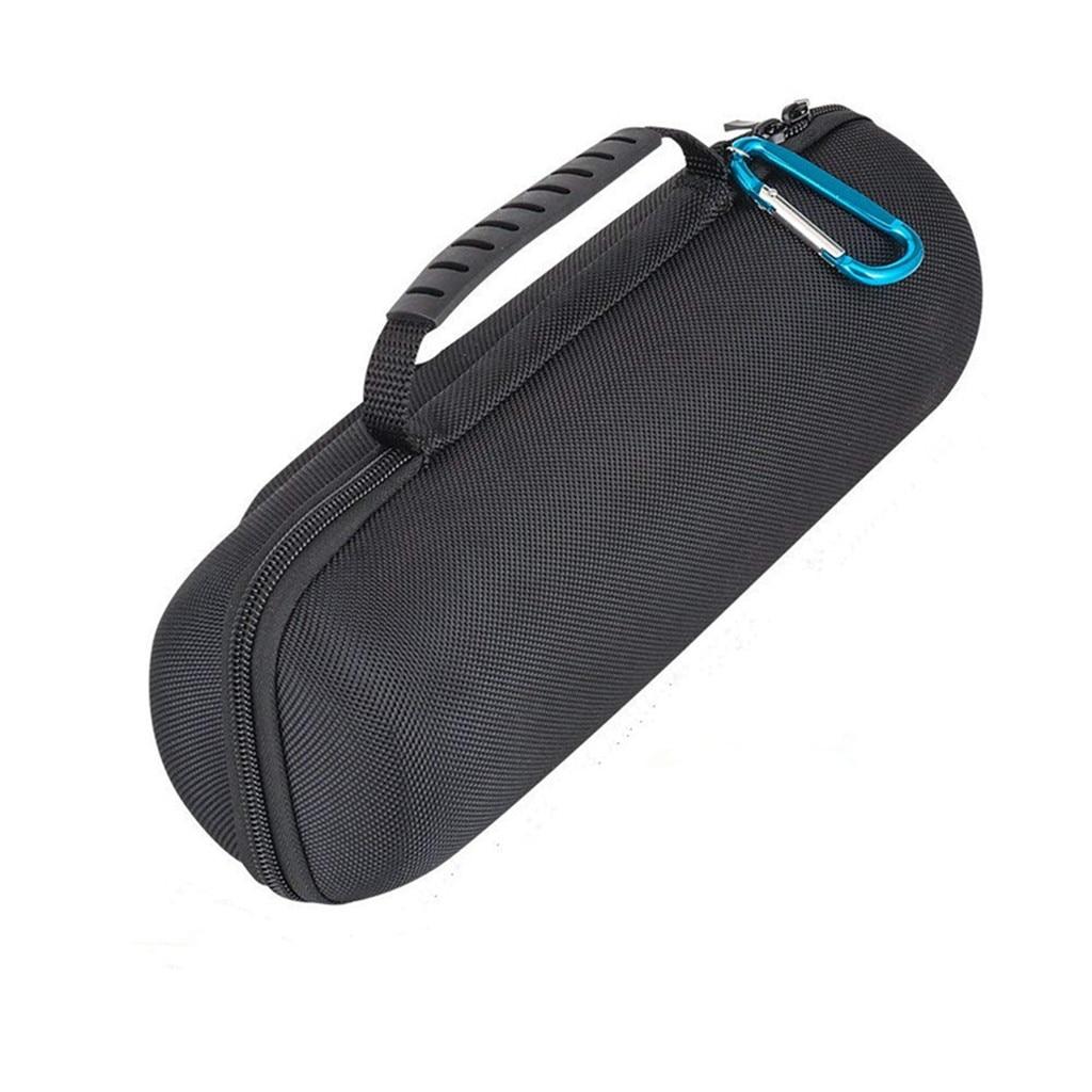 Eva de armazenamento rígido com zíper caso capa feita de eva e tecido de náilon portátil carry bag para carga jbl 4 sem fio bluetooch alto-falante