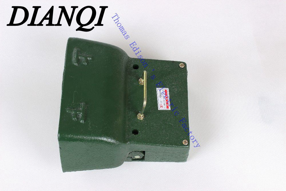 ФОТО YDT1-14 Foot Switch Pedal Foot Control Switch 250V 380V 5A double pedal use for bending machine punch