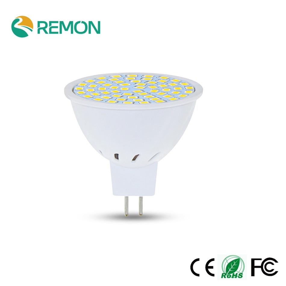 Lampada E27 GU10 MR16 48led 60led 80led LED Bulb Spotlight Lampara LED Lamp 220V SMD2835 Spot