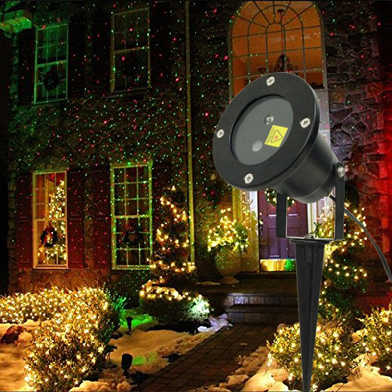 Remote control Red Green Twinkling Laser Light Waterproof IP65 outdoor laser projection lamp Bar DJ
