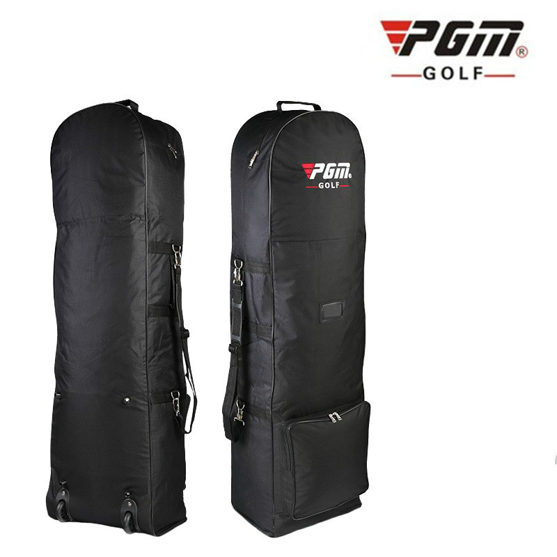 Golf Bag Travel With Wheels Large Capacity Storage Bag Practical Golf Aviation Bag Foldable Airplane Travelling Nylon Golf Bags