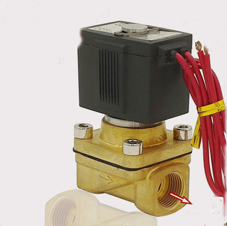 3/8  VX series brass normal close two way solenoid valve electrovanne solenoid valve