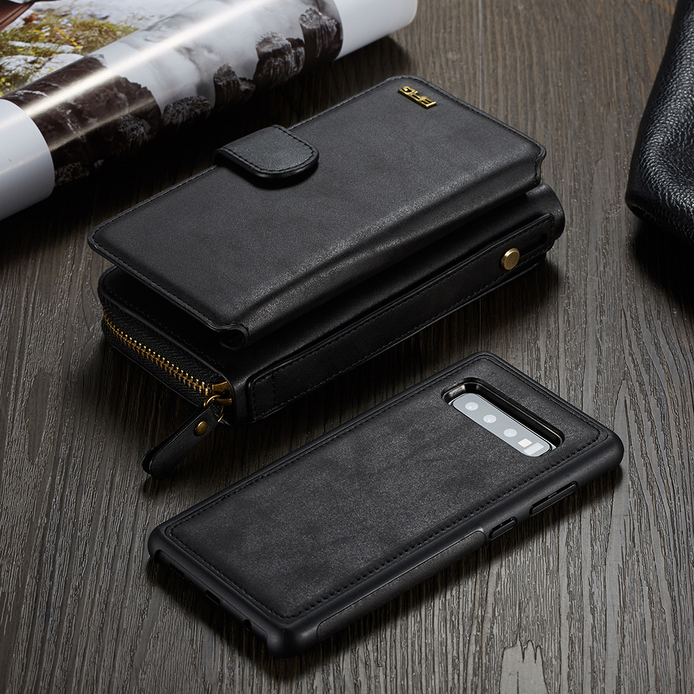 Zipper Purse Wallet Leather Case For Samsung Galaxy Note 9