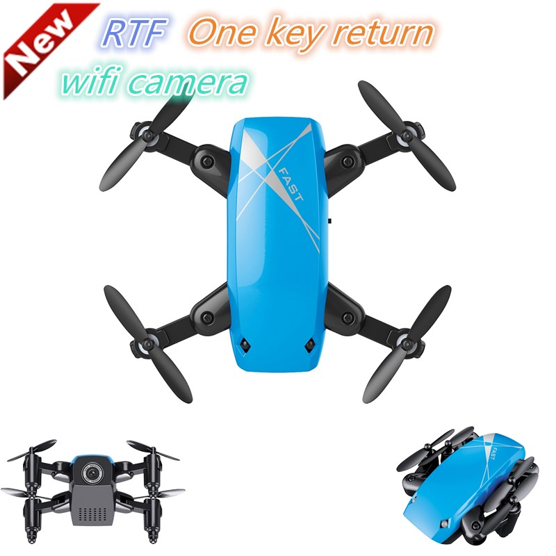 S9 Micro Pliable FPV RC Quadcopter RTF 2.4 GHz Sans Fil 4CH 6-axis Gyro Sans Tête Mode Un Retour Key avec 0.3MP caméra