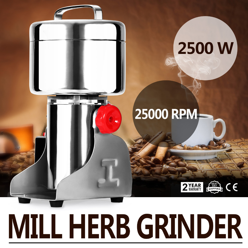 750G High Speed Electric Herb Coffee Beans Grain Grinder Cereal Mill Flour Powder Machine цена