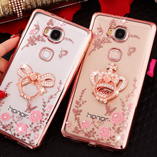 For Fundas Huawei Honor 10 Cases Soft TPU Back Cover Glitter Clear For Huawei Honor 9 Lite Phone Case Honor 8 V8 V9 V10 5X 6X 6A все цены