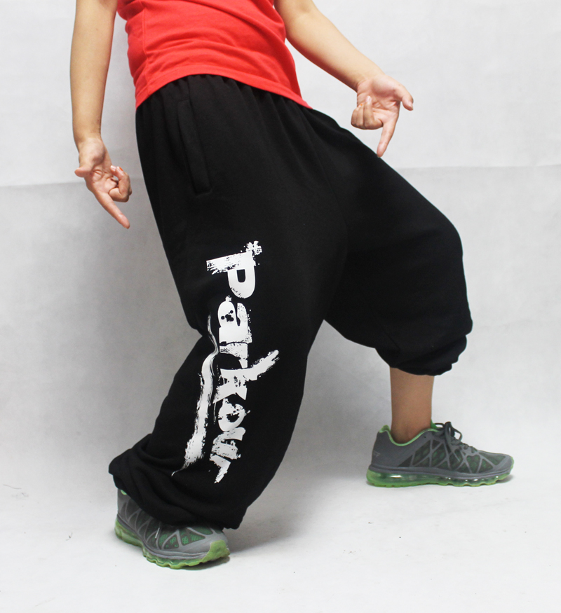 miglior servizio 082f5 b0a11 100% cotton trousers parkour training pants hiphop jeans hip ...