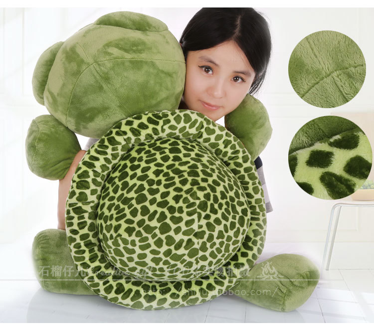 stuffed animal 65cm green turtle big eyes turtle toy tortoise doll gift w2504 stuffed animal 44 cm plush standing cow toy simulation dairy cattle doll great gift w501