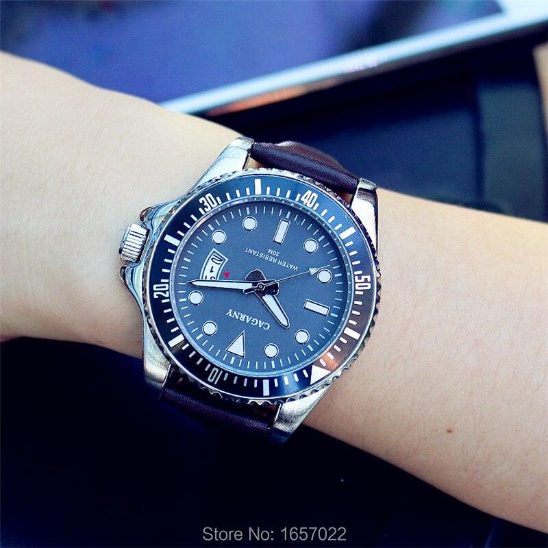 Hight Quality Women Fashion Quartz Luminous Dresswatch Casual Men Business Watch With Calendar Lover's Sport Leather Watch