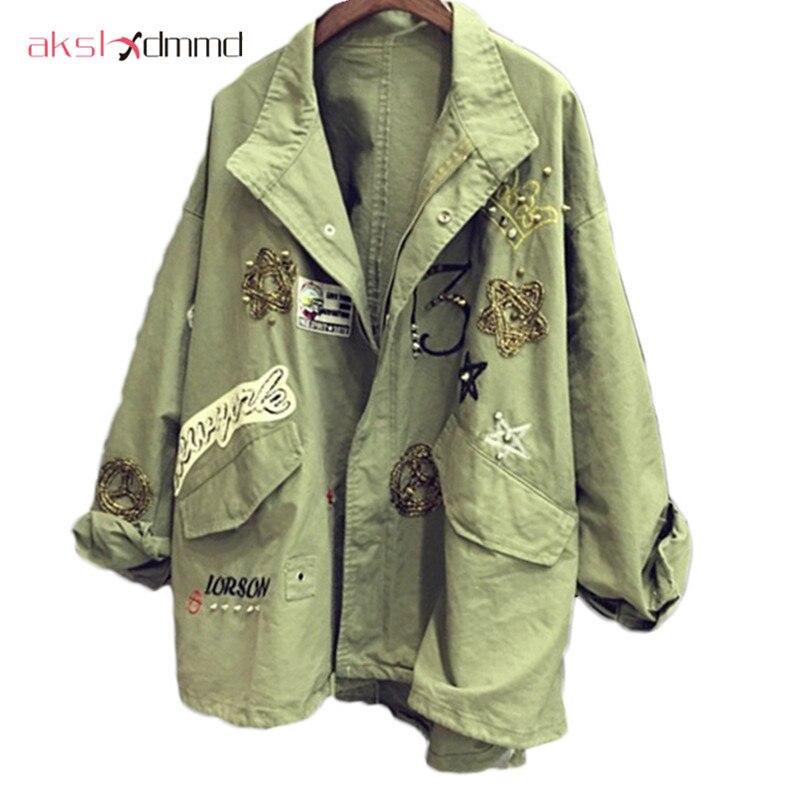 AKSLXDMMD 2017 Nuevas Mujeres Capa de la Chaqueta de bombardero chaqueta de Dise